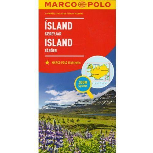Marco Polo Mapa Samochodowa Islandia 1:650 000 Zoom (9783829738323)