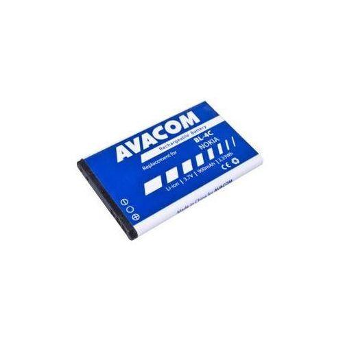 Bateria do telefonu  dla nokia 6300, li-ion 3,7v 900mah ( bp-4c) wyprodukowany przez Avacom