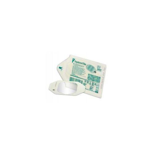 tegaderm transparent film dressing - przeźroczysty opatrunek transparentny z ramką 10cm x 12cm 1szt. marki 3m