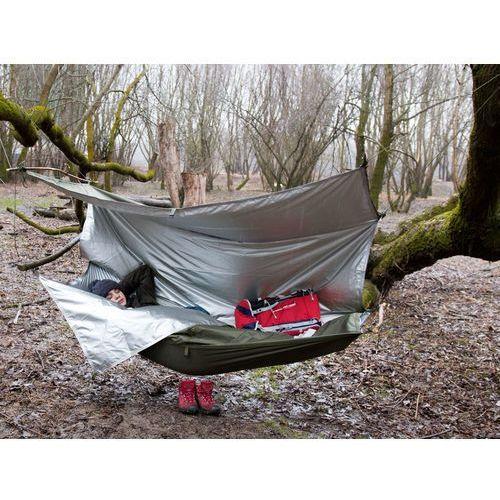 Mocny, oddychający, wodoodporny thermo tarp s marki Bushmen