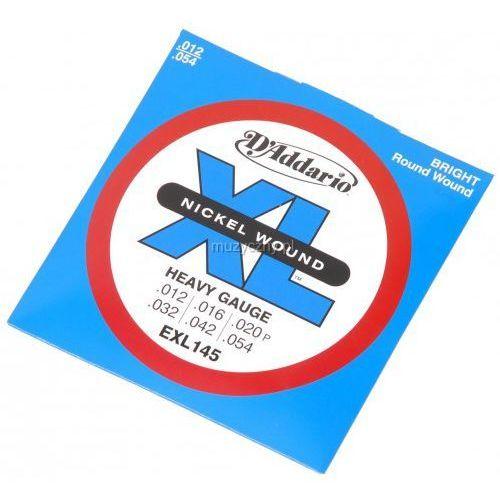 D′Addario EXL 145 struny do gitary elektrycznej 12-54