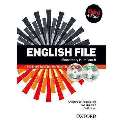 English File Elementary. MultiPack B (Podręcznik B + Ćwiczenia B + iTutor + iChecker) (96 str.)