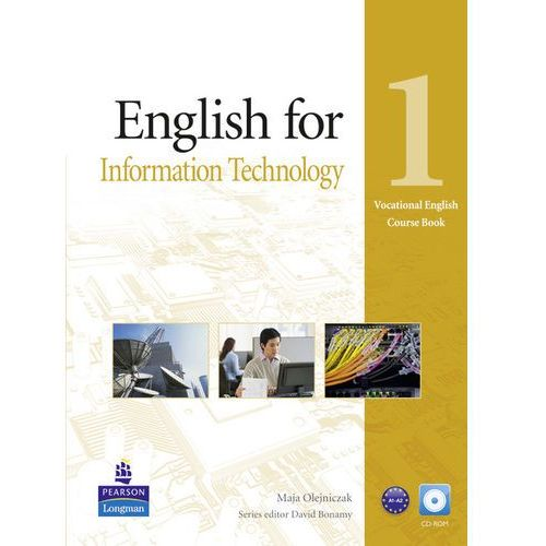 Vocational English: English for IT, Level 1, Coursebook (podręcznik) plus CD-ROM (2011)