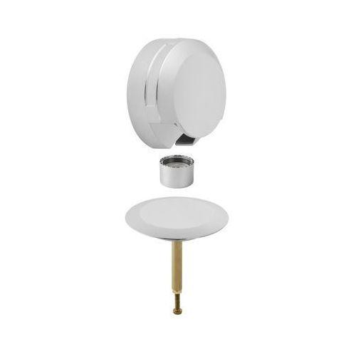 Geberit Zestaw wykończeniowy syfonu wannowego Delta do baterii podtynkowej chrom błyszczący 150.425.21.1 - produkt z kategorii- Stelaże i zestawy podtynkowe