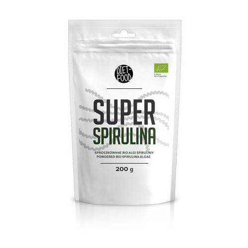 Diet food 200g super spirulina sproszkowane algi spiruliny bio marki Diet-food