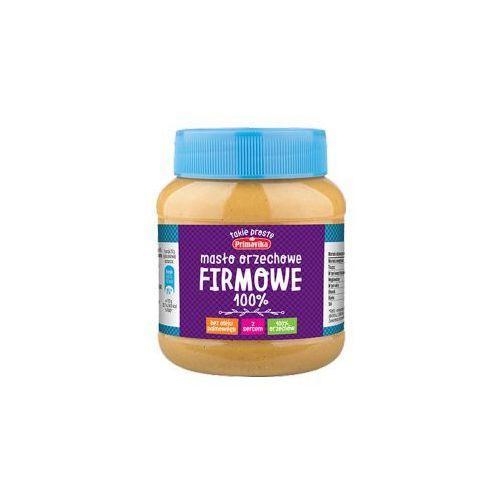 Masło orzechowe firmowe 100 % orzechów 350 g marki Primavika