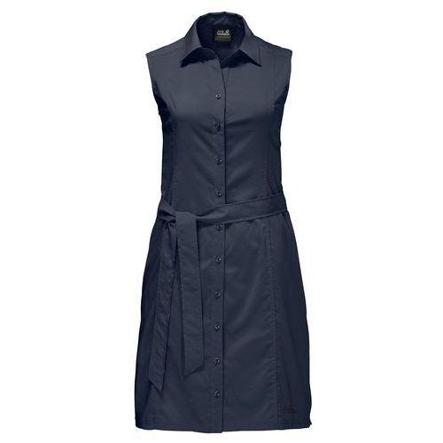 Jack Wolfskin Sonora Sukienka Kobiety niebieski XL 2018 Sukienki, kolor niebieski