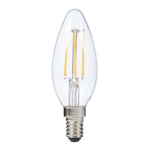 Żarówka LED Diall Filament ściemnialna B35 E14 4 5 W 470 lm przezroczysta barwa ciepła (3663602838562)