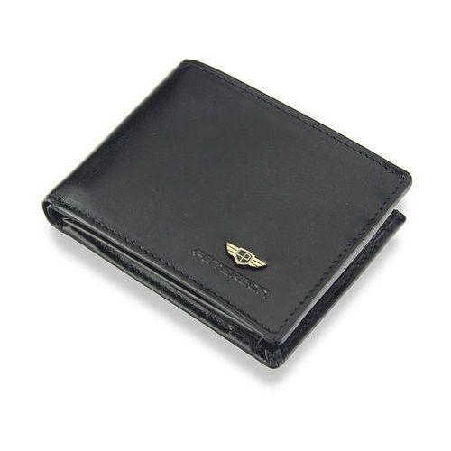 db1ccd5700d52 Kompaktowy portfel męski skórzany mały zgrabny poziomy czarny system rfid  367 marki Peterson 139,00 zł Stylowy portfel męski polskiej marki Peterson.