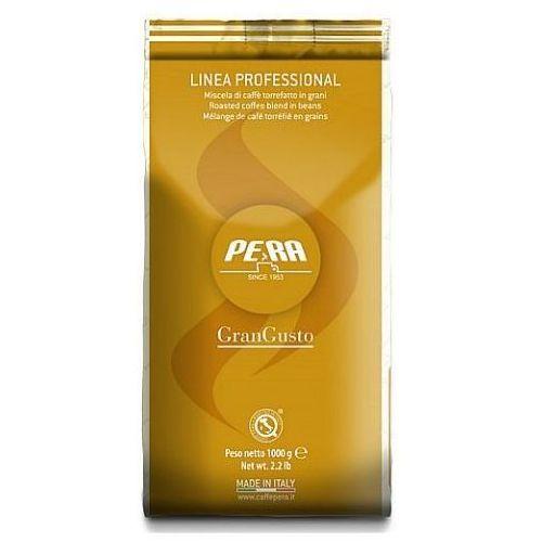 Średnio mocna kawa ziarnista gran gusto linia profesionalna | 1kg marki Pera