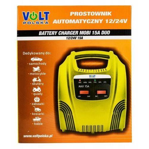 Volt polska Prostownik automatyczny volt mobi duo 15a 12v/24v (5903293765067)