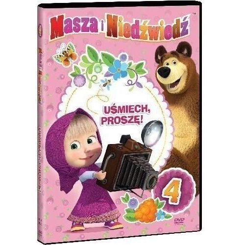 Oleg kuzovkov Masza i niedźwiedź. część 4: uśmiech, proszę! (dvd) - (7321997610809)