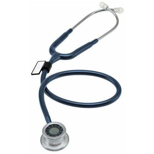Mdf Stetoskop pulse time 740 z zegarem - ciemno niebieski
