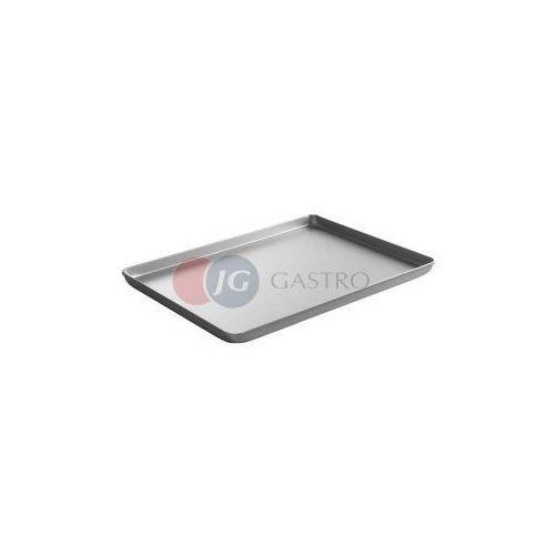 Taca cukiernicza ekspozycyjna srebrna 600x400 mm 808511