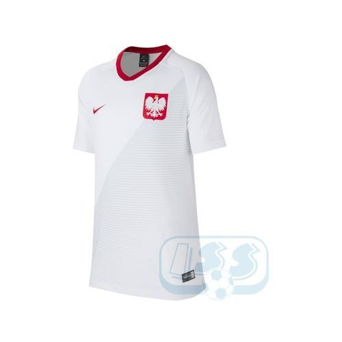 Dpol74j: polska - koszulka junior marki Nike
