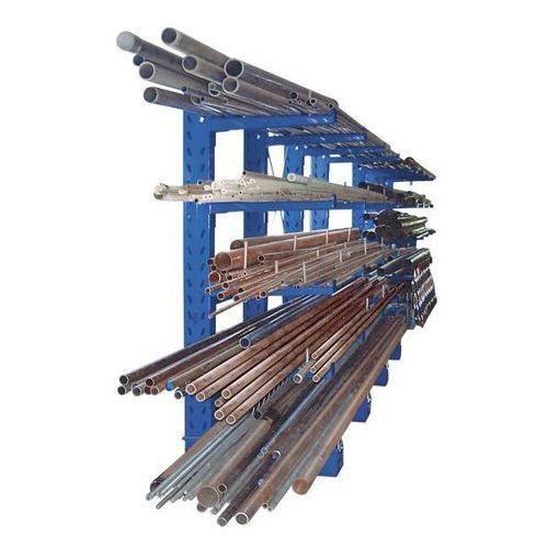 Regał wspornikowy, konstrukcja ciężka, wys. stojaka 2500 mm, regał podstawowy, j