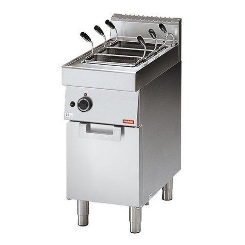 Modular Urządzenie elektryczne do gotowania makaronu z kranem | 4 komorowe | 3000w | 230v | 70x40x(h)85cm