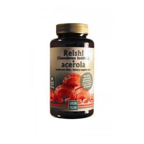 Reishi + Acerola 90kaps z kategorii Pozostałe zdrowie