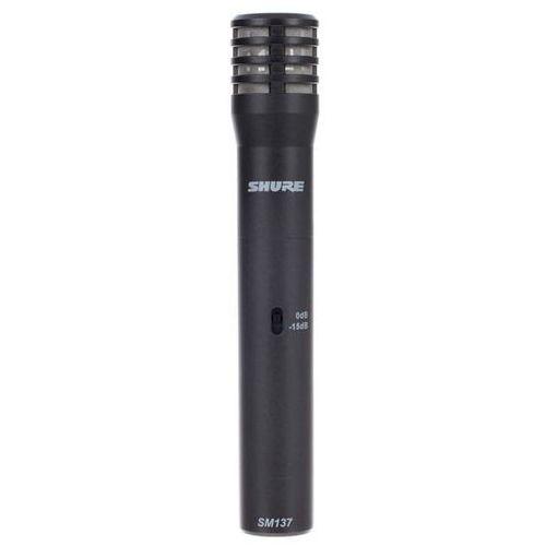 Shure sm137-lc - mikrofon pojemnościowy