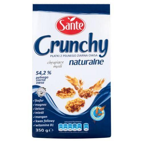 Sante Crunchy naturalne Płatki z pełnego ziarna owsa 350 g (5900617002228)