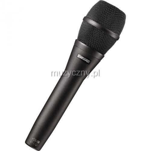 Shure ksm9hs/cg mikrofon pojemnościowy, kolor czarny