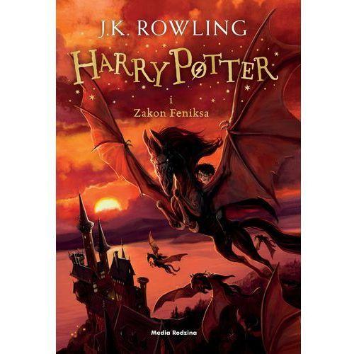 Harry Potter i Zakon Feniksa '16 - Joanne Rowling, oprawa twarda