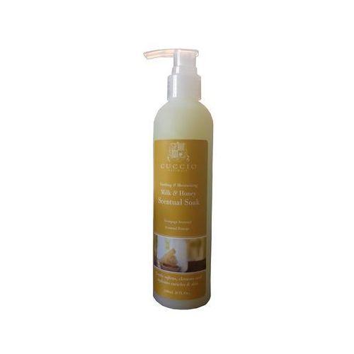 Cuccio milk & honey scentual soak | żel zmiękczający do dłoni i stóp, 240ml