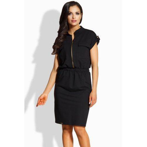 Lemoniade L207 sukienka, kolor czarny
