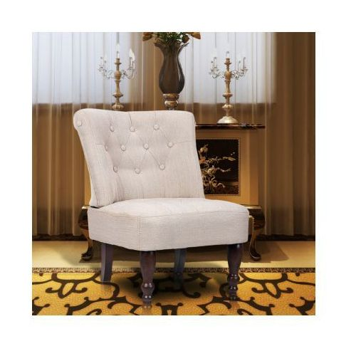 Fotel francuski, kremowy, marki vidaXL do zakupu w VidaXL