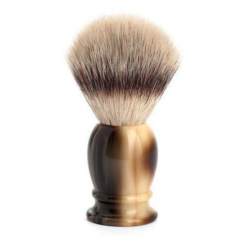 Pędzel do golenia Muhle CLASSIC 31K252, syntetyk SILVERTIP FIBRES, imitacja rogu, 31K252