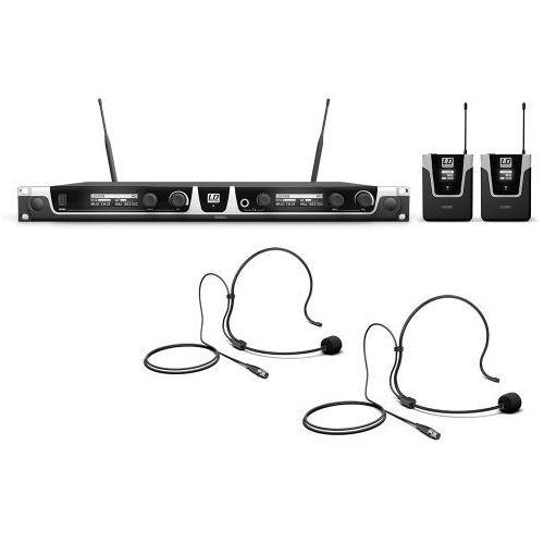 u508 bph2, bezprzewodowy system mikrofonowy z nadajnikiem bodypack x 2 i zestawem nagłownym x 2 marki Ld systems