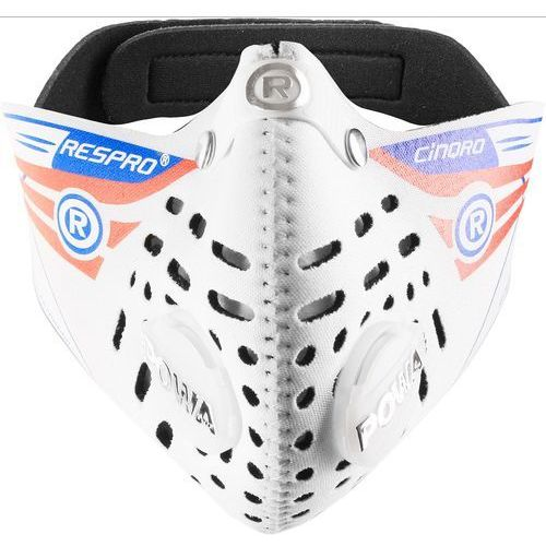 Maska antysmogowa RESPRO Cinqro Biały L + Zamów z DOSTAWĄ JUTRO! + DARMOWY TRANSPORT!