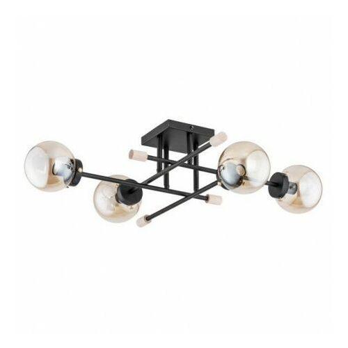Alfa transfer max 2536440/01 plafon lampa sufitowa 4x40w e14 czarny