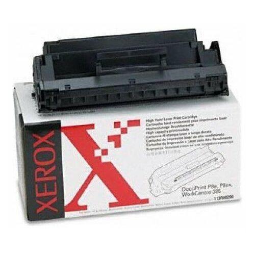 Xerox Wyprzedaż oryginał toner 113r00296 113r296 czarny [ docuprint p8e p8ex, workcentre 385 390, 5000 stron ]