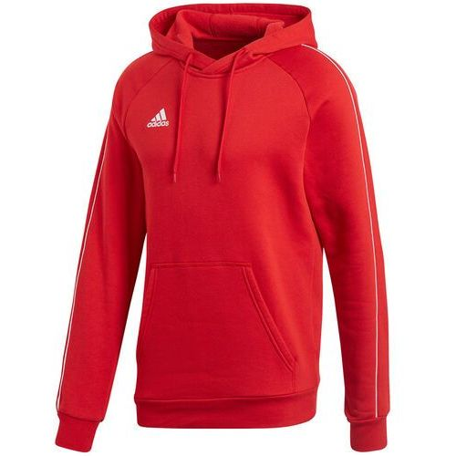 Bluza męska core 18 hoody czerwona cv3337, Adidas
