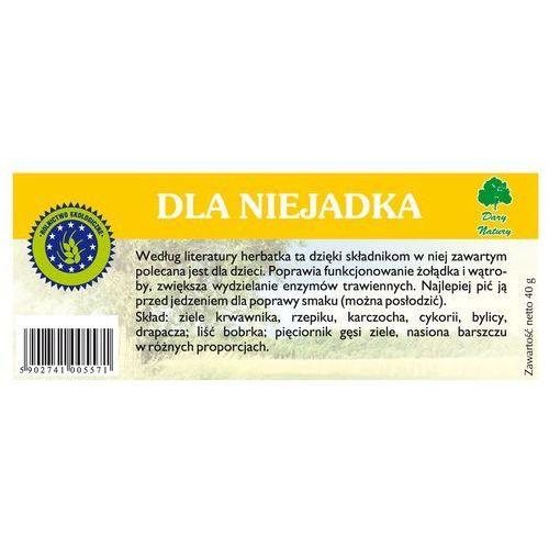 Herbatka dla niejadka bio (20 x 2 g) - dary natury marki Dary natury - herbatki bio