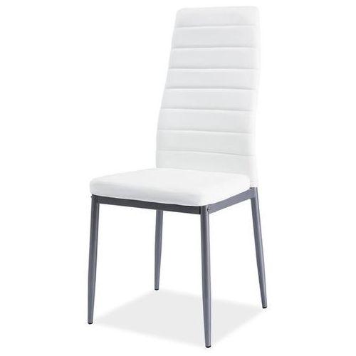 Signal Krzesło z ekoskóry h261 alu