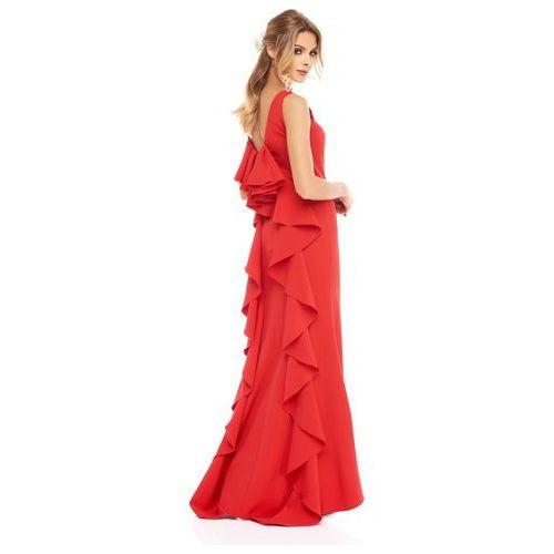 Sugarfree Sukienka gardenia w kolorze czerwonym