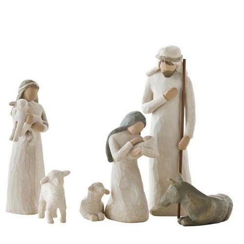 Święta Rodzina szopka Nativity 26005 Susan Lordi Willow Tree figurka ozdoba świąteczna
