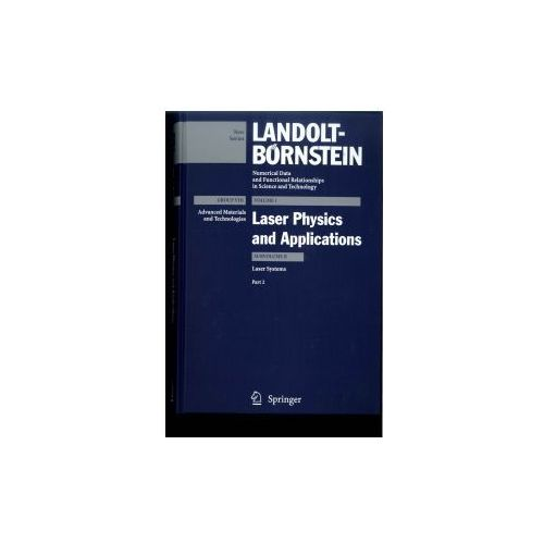 Landolt-Börnstein: Numerical Data and Functional Relationships in Science and Technology - New Series (9783540443803)