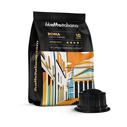 Roma il caffè italiano kapsułki do tchibo cafissimo – 10 kapsułek marki Nespresso kapsułki