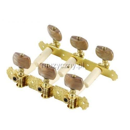 Alice AOS020B4P klucze do gitary klasycznej, złote