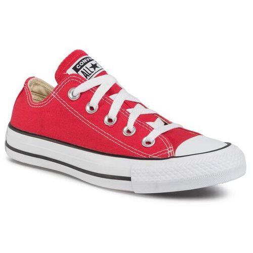 Trampki CONVERSE - All Star M9696 Czerwony, kolor czerwony