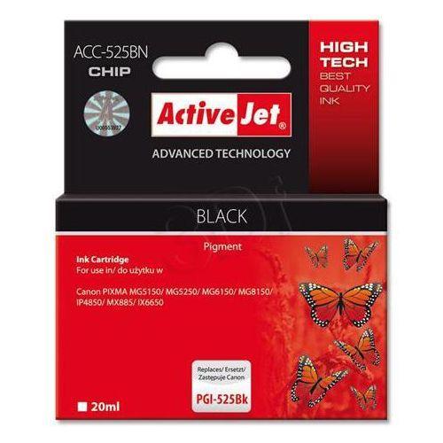 Tusz ACC-525BN Czarny do drukarki Canon (Zamiennik Canon PGI-525BK) - z chipem [20ml] - produkt z kategorii- tusze