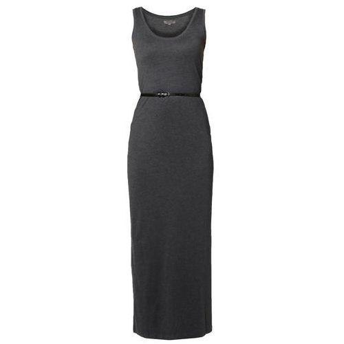 Zalando Essentials D�uga sukienka dark grey melange