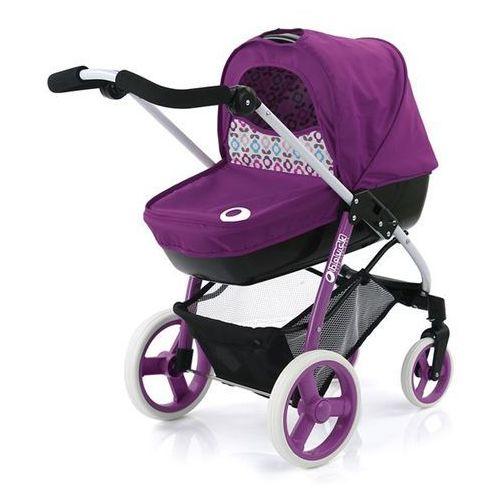 Hauck wózek dla lalek Boston 2w1, fioletowy - oferta [0578d34043af36d3]
