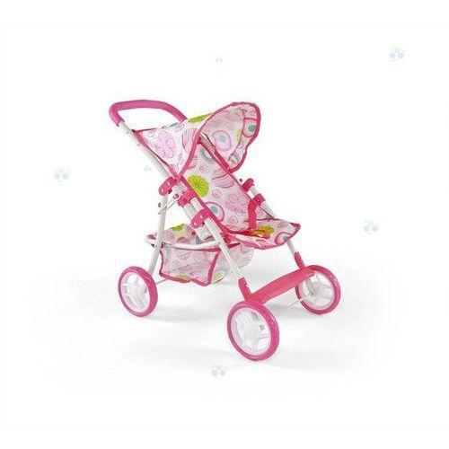Wózek dla lalek Natalia różowo-biały - oferta [05dbd24bd31f1536]