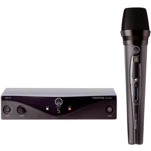 Akg wms45 vocal set mikrofon bezprzewodowy doręczny, cz. a