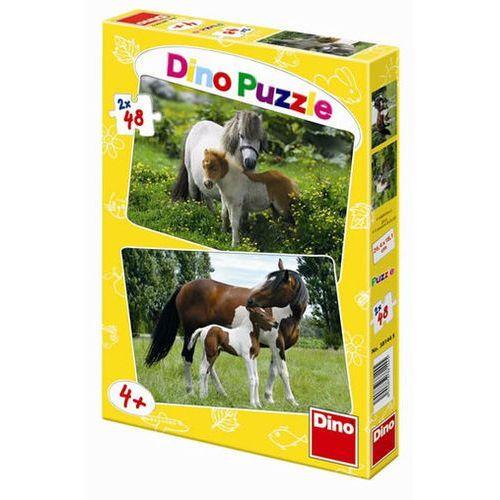 Poníci a Koníci - puzzle 2 motivy v bale neuveden