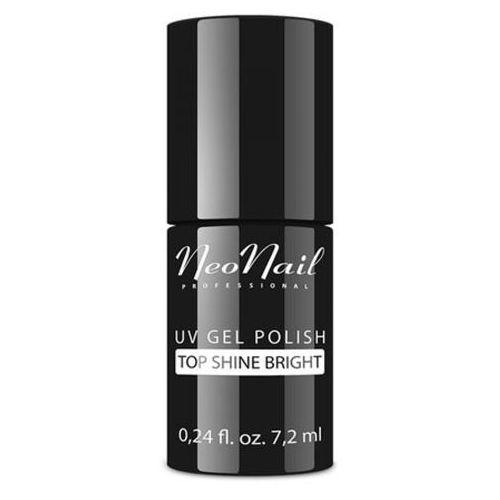 NeoNail TOP SHINE BRIGHT Ultra-nabłyszczacz do lakieru hybrydowego - bez przemywania (7,2 ml)